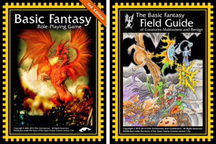 BFRPG New Print Releases