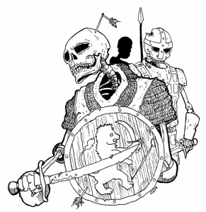 Skeleton - From the BFRPG Field Guide