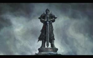 Black Knight Statue